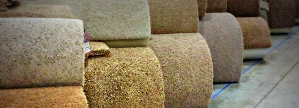 Hundreds of Carpet Rolls In Stock